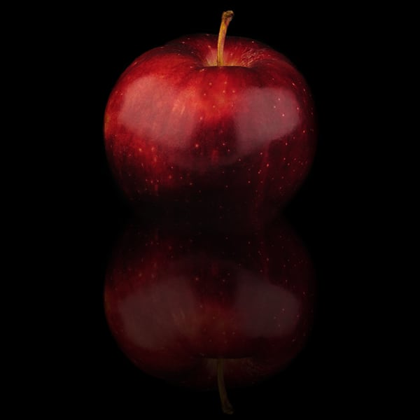 Crunchy, crisp cox apple